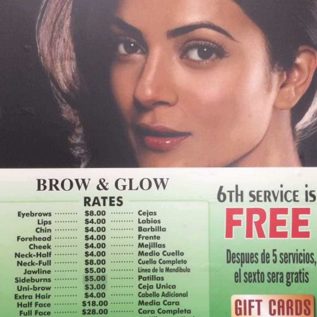 brow-and-glow-menu