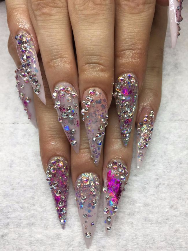 Imagic Nails Smart Sacramento Manicures Pedicures Acrylic Gel Nail Designs Art And Freehand Design Decorations Cles 4
